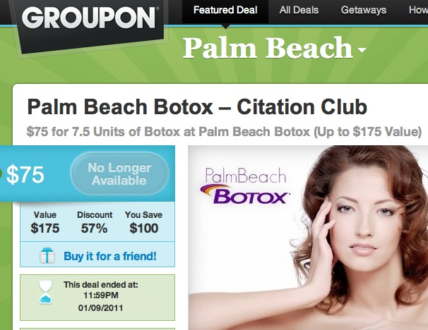 groupon botox coupon