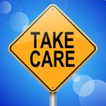 take care sign