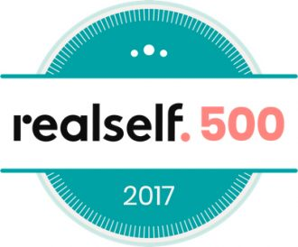 RealSelf 500 2017 badge