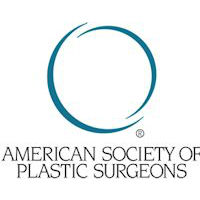 The logo of the American Society Of Plastic Surgeons.