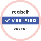 RealSelf verified doctor badge