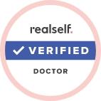 RealSelf verified doctor badge