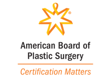 the American Board of Plastic Surgery certification matters logo