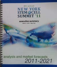 Cover: New York stem cell summit '11.