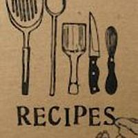An illustration of the kitchen utensils needed for a recipe.
