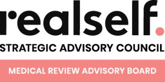 RealSelf strategic advisory council, medical review advisory board badge