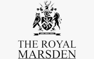 The Royal Marsden logo.